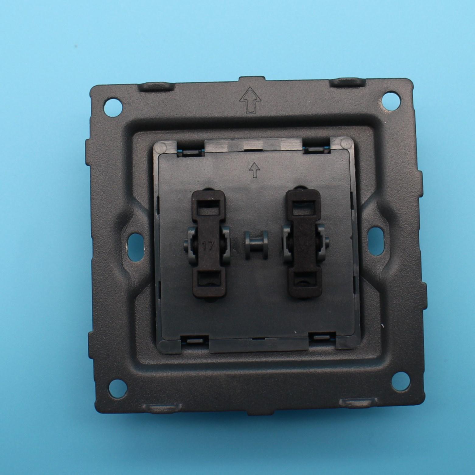 Uk Standard 2 Gang 2 Way Electronic Control Lighting Smart