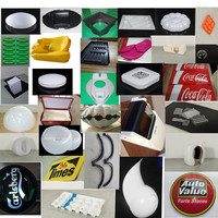 Factory made vacuum formed colorful plastic products