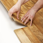 7.5mm thickness German technology cheap mdf laminate floor
