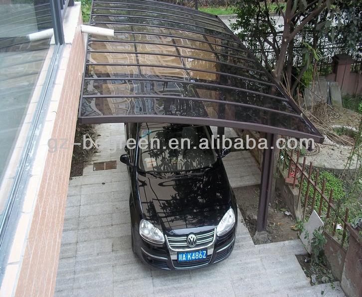 Outdoor parking policarbonato carpa garaje para coche - Garaje para coches ...