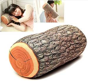 Edealing New Design Baby Adult Pillow Safe And Comfortable Head Neck Support Wood Shape Soft Prevent Flat Head Pillow Cushion Pad