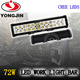 Auto led 72w cheap led light bars 12v 24v work lamp for SUV/JEEP/Truck