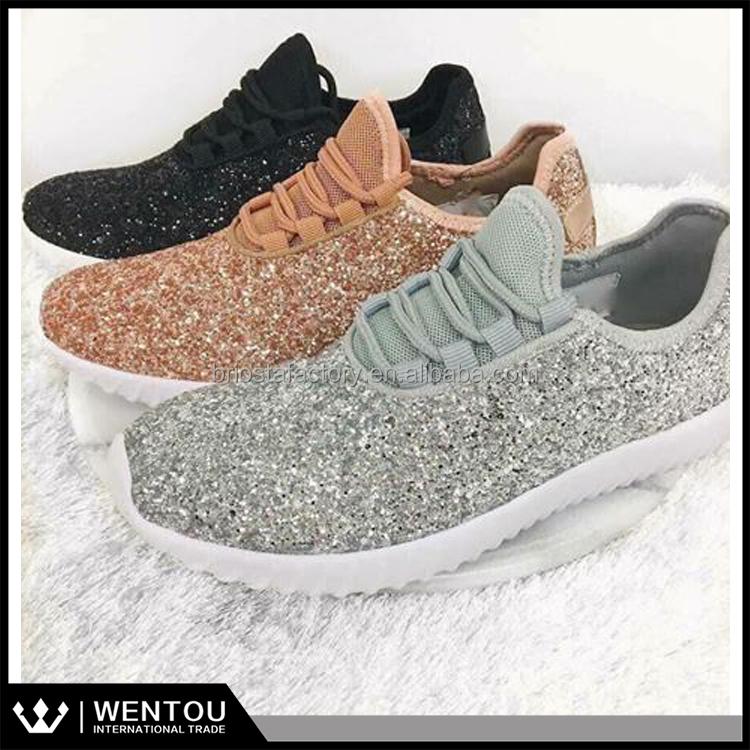 Glitter Tennis Shoes Wholesale