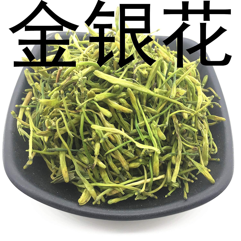 金银花Chinese herbal medicine honeysuckle flowers drying peanut 500 grams of water to bathe the baby bag mail