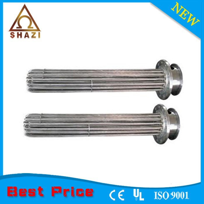 flanged immersion heater for Food Processing Equipment