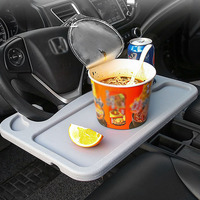 Portable laptop car tray desk car steering wheel multi tray 42.5*28.5CM car steering wheel table