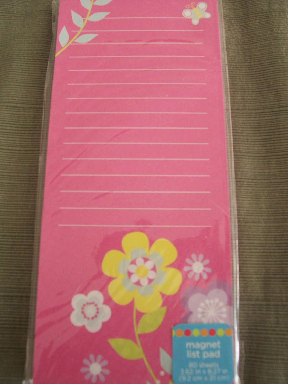 Cheap list pink flowers find list pink flowers deals on line at get quotations magnetic list pad pink with flowers mightylinksfo
