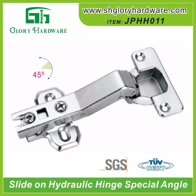 Grade useful fixed on gate hinge