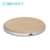 Natural wood design charging phone case for iphone wireless charging QI