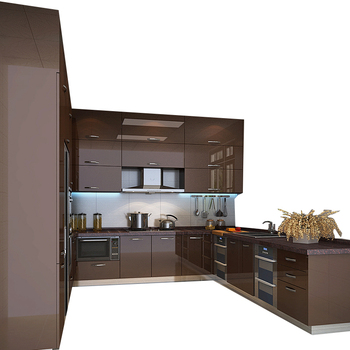 American Apartment Project Modern Kitchen With Free Cabinet Designs View Kitchen Weisihui Product Details From Guangzhou Weisihui Furniture Co