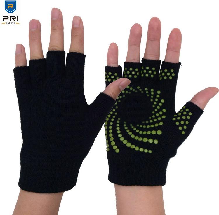 New Fingerless Magic Gripper Gloves//Half Finger FREE P/&P
