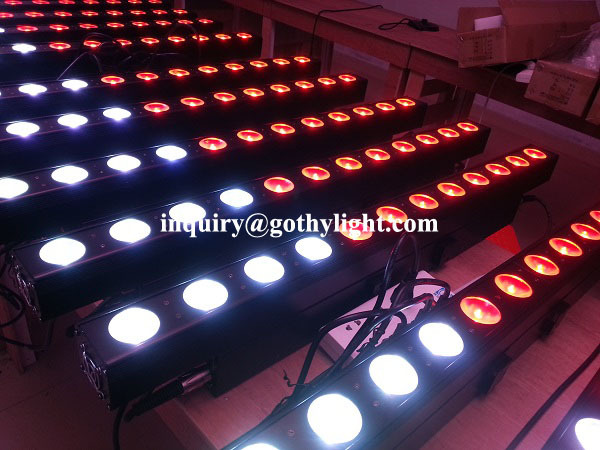 Perfect Wash Light Quad 12 10w 4in1 Rgbw Led Stage Foot Lights ...