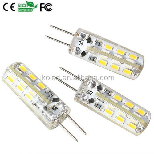 G4 2W LED Bulbs 24/SMD 3014 LED SMD DC 12V/24V Home Light Car Bulbs Energy Saving Lamps B White Bright Warm/Cool White