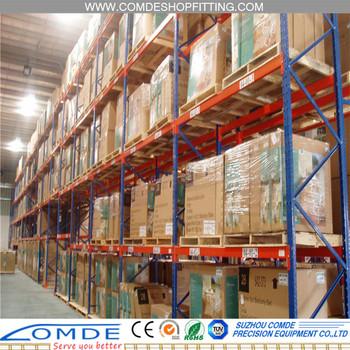 heavy duty warehouse storage pallet rack warehouse shelving units rh alibaba com Warehouse Pallet Racking Design Commercial Warehouse Shelving