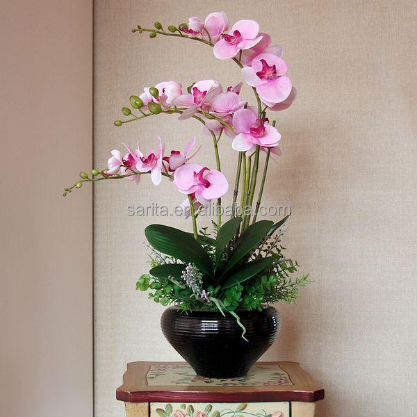Artificial flor de la orqu dea artificial orqu deas en - Macetas para orquideas ...