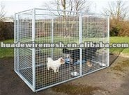 Metal animal cages