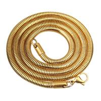 Fashion stainless steel snake chain for jewelry necklace