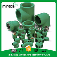 wholesale ppr fitting female seated elbow pipes fittings end cap with spring