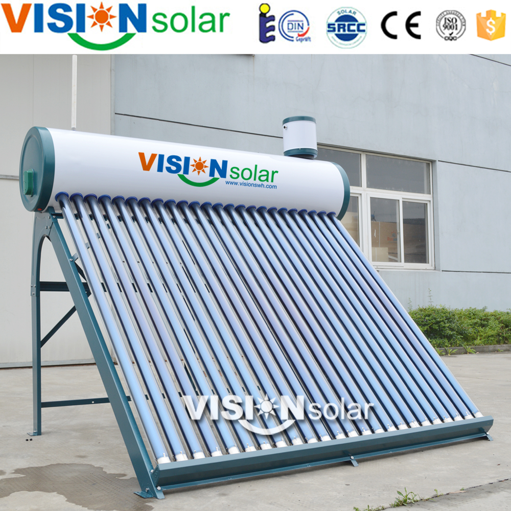 2016 Compact non-pressurized solar water heater solar energy for home