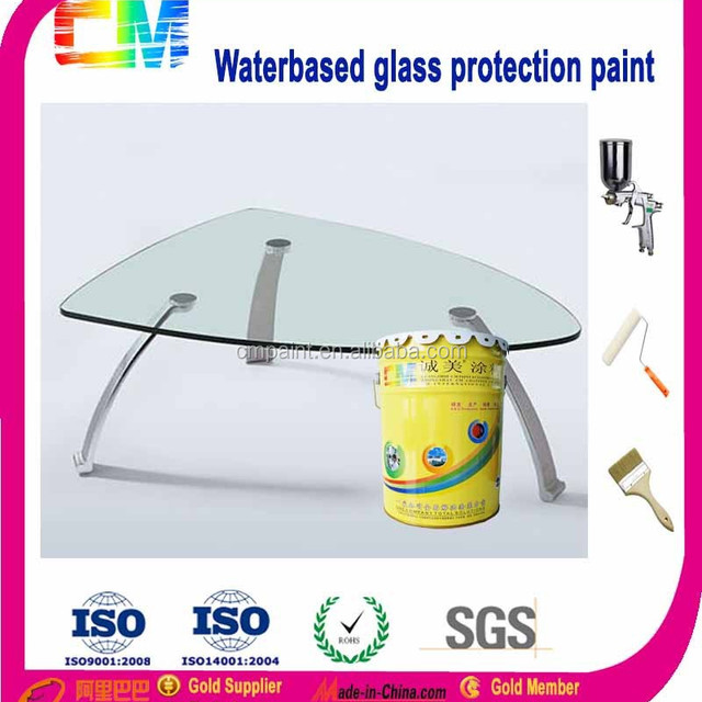 Waterbased Protection Furniture Glass Paint