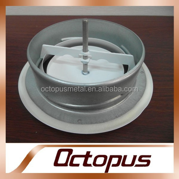 Round Ceiling diffuser for Air Supply valve metal air Exhaust valve