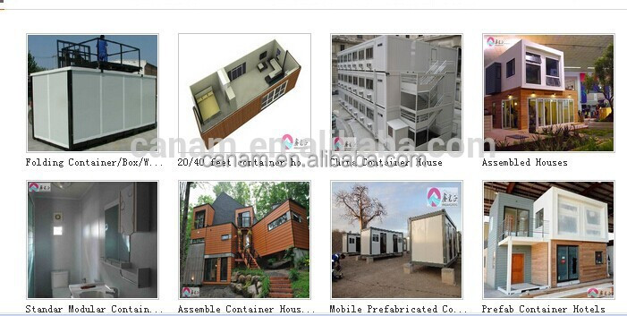 CANAM-fast assembly durable prefab kit set houses