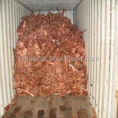 Metal meterial 99.9% Copper wire scrap from top factory in China