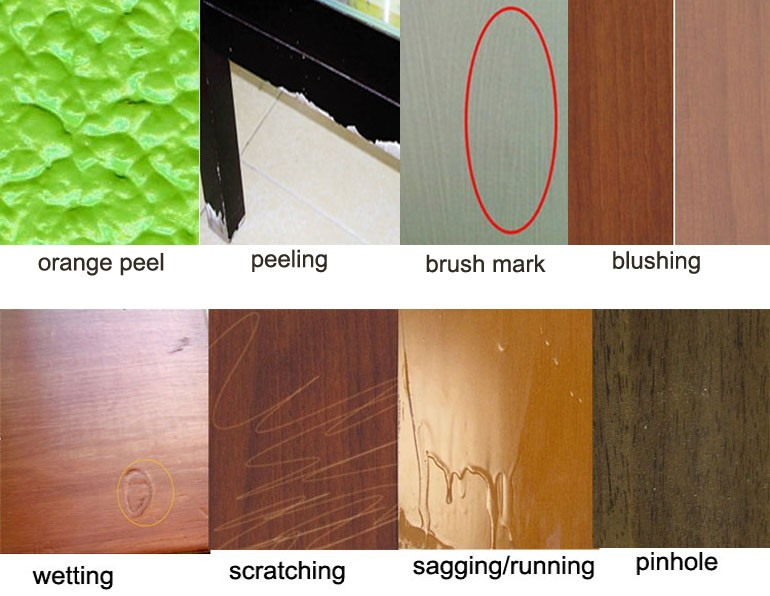 Good fullness color wood topcoat paint online