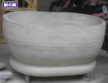Vasca Da Bagno Marmo : Cina grigio marmo legno di teak vasca da bagno buy vasca da