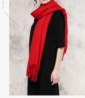 wholesale 2016 plain wool Female shawls scarves