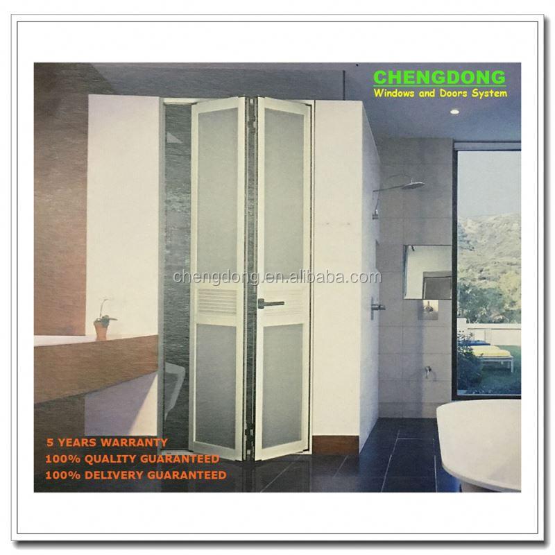 Pvc Plastic Louver Door Bathroom Design U Movable Doors Product On