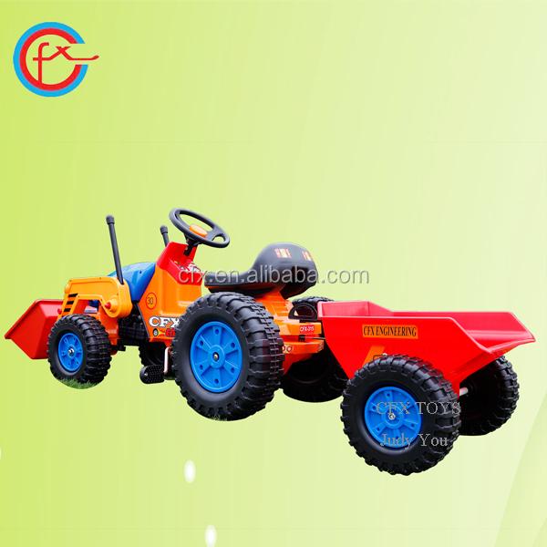 Excavator Toy For Kids Children Ride On Truck Trailer 413