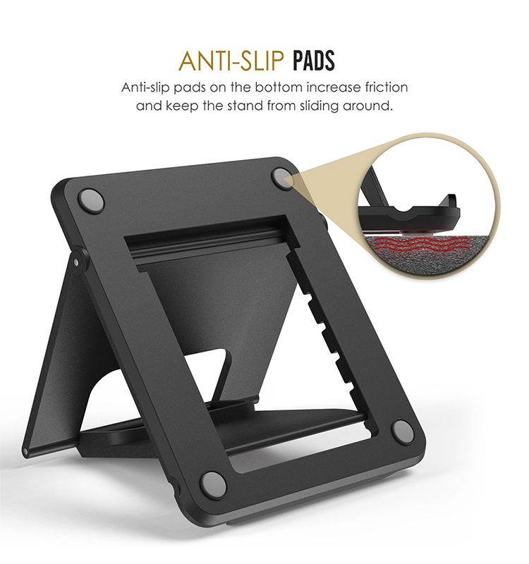 Cell Phone Stand Tablet Stand Universal Foldable Multi-angle Desktop Holder Portable Mobile Phone Holder Stand