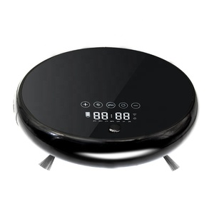 Anti-collision gyroscopic navigation intelligent robot vacuum cleaner