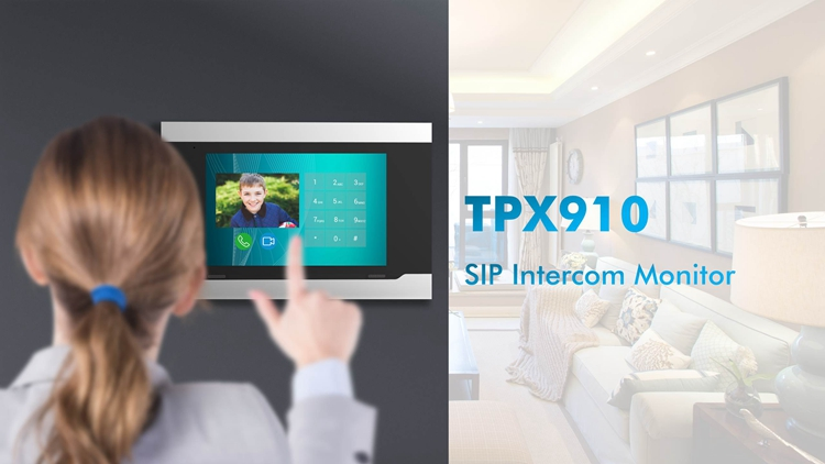 10-Inch Ip Indoor Monitor Telpo Video Deurbel Camera Mobiele Telefoon Intercom Deur Opening Systeem
