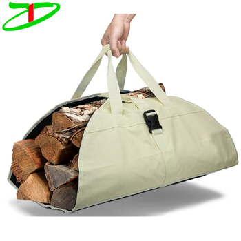 Deals Best Wood Bag Premium Quality Log Firewood Carrying Ton