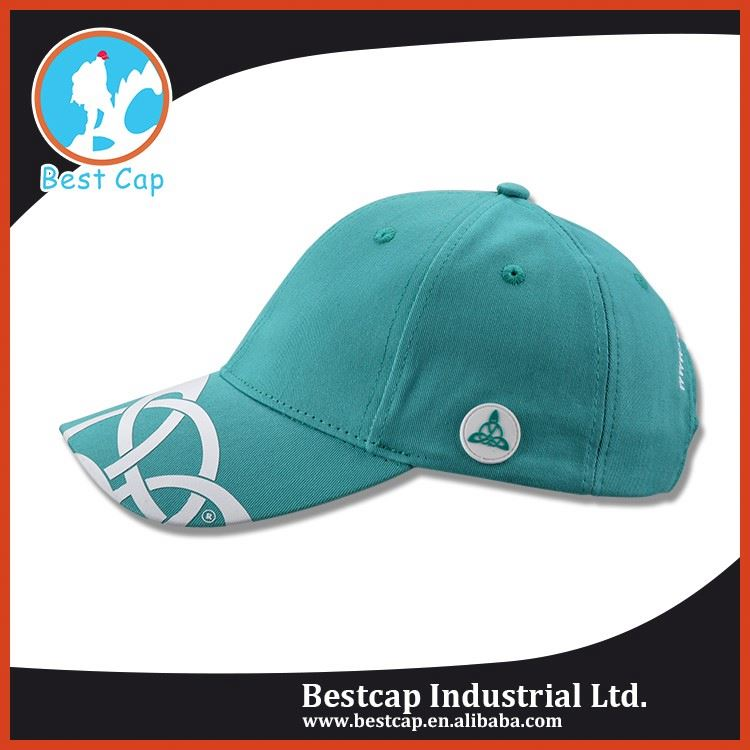 Green female hat and cap,real simple promotion cap