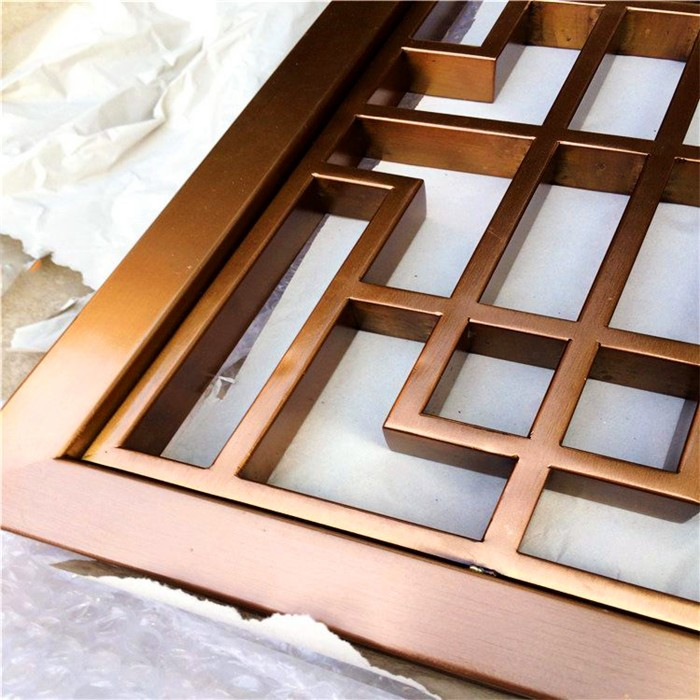 Foshan Mingtao Metal Co Ltd Cnc Bronze Metal Panel