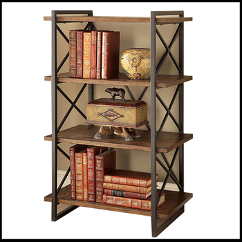 American Style Wooden Book Shelf Racks Modern Classic Kids Bookshelf For Sale