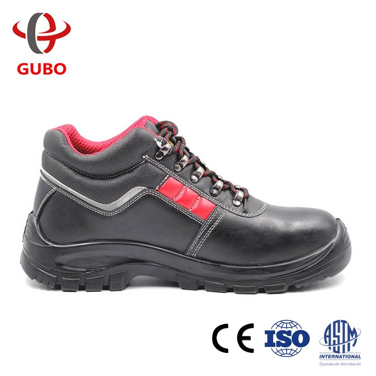 Slip On-Steel Midsole S1P food industry wear resistant Leather safety shoes good price