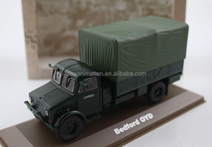 hot selling diecast truck model army truck toys model 1/24 3d printing