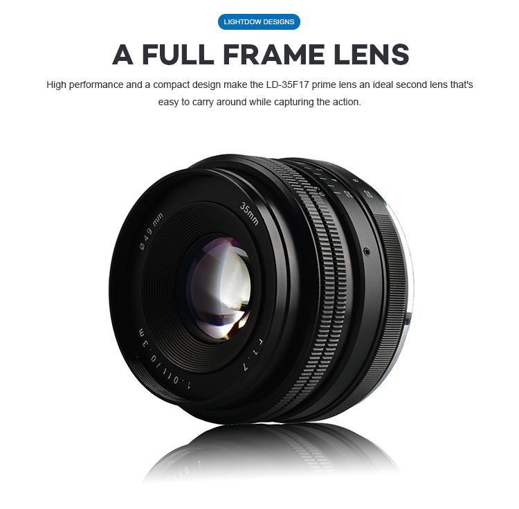 Super Telephoto Manual Focus 35Mm F/1.7 Camera Lenses For Camera