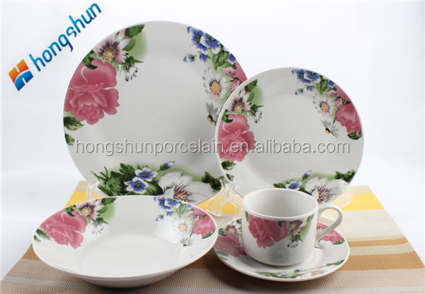 good tea ware/excellent houseware/plates set