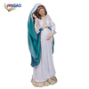 Wholesale Cheap resin home decor catholic religious items Virgin Mary statues catholic religious gifts