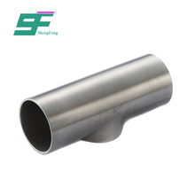 ShengFeng SS304 stainless steel foodgrade welding pipe tee joint