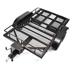 Xtra Speed 1/10 Heavy Duty Truck and Car Trailer For 1/10 1/8 Crawler Truck Car #XS-59619 by Xtra Speed