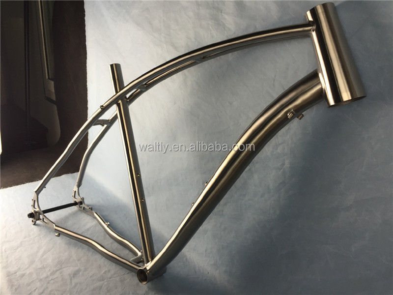 Newest and fashion design titanium cyclocross bike frame on sale