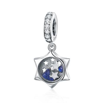 Bagreer WISHING STARS PENDANT 100% 925 STERLING SILVER JEWELRY SCC1083