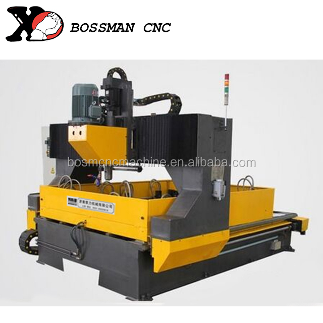 Steel Metal Machining CNC Drilling And Tapping Machine