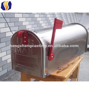 American modern style metal mailbox American mailbox US mailbox